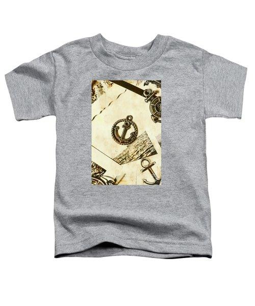 Old Shipping Emblem Toddler T-Shirt