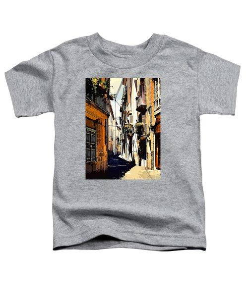 Old Spanish Street Toddler T-Shirt