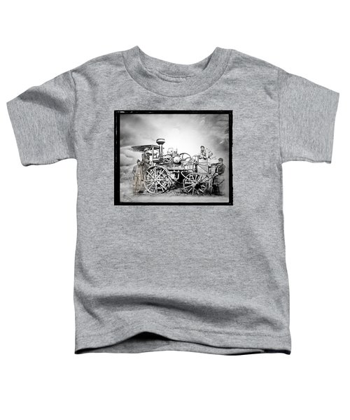 Old Steam Tractor Toddler T-Shirt