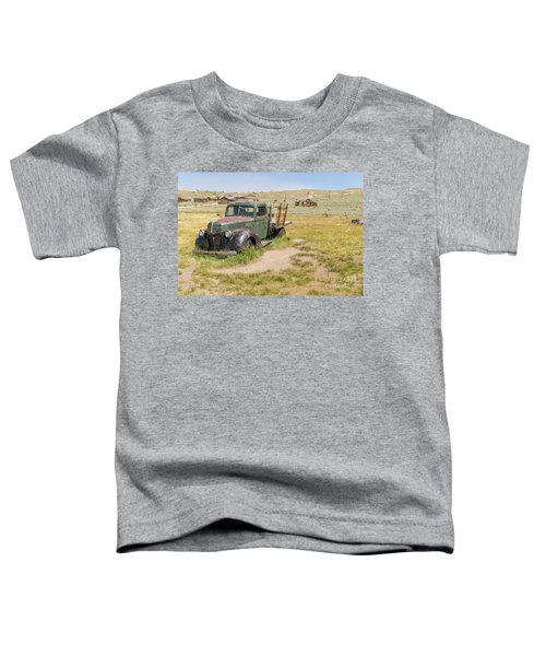Old Truck At The Ghost Town Of Bodie California Dsc4404 Toddler T-Shirt