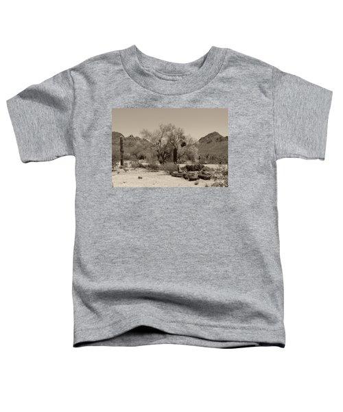 Old Tucson Landscape  Toddler T-Shirt