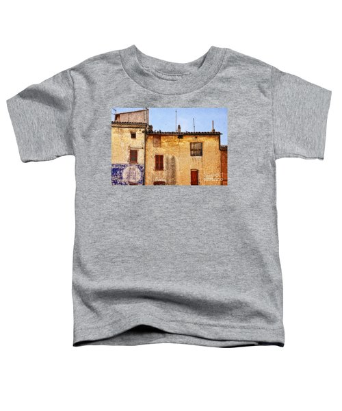 Old Walls In Provence Toddler T-Shirt