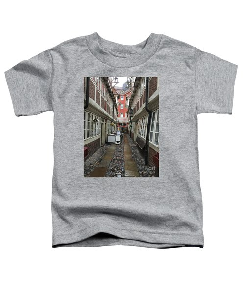Krameramtsstuben The Oldest Street In Hamburg Germany Toddler T-Shirt