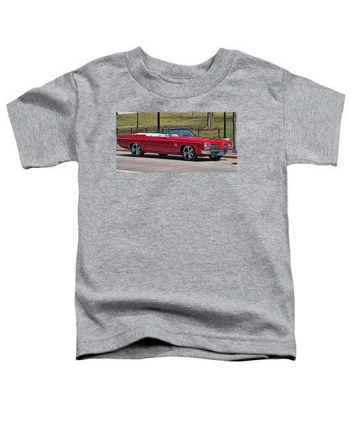 Oldsmobile Delta Royale 88 Red Convertible Toddler T-Shirt
