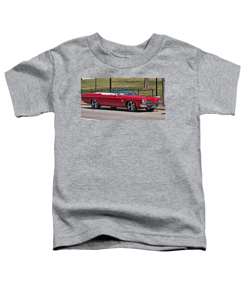 Oldsmobile Delta Royale 88 Red Convertible Toddler T-Shirt