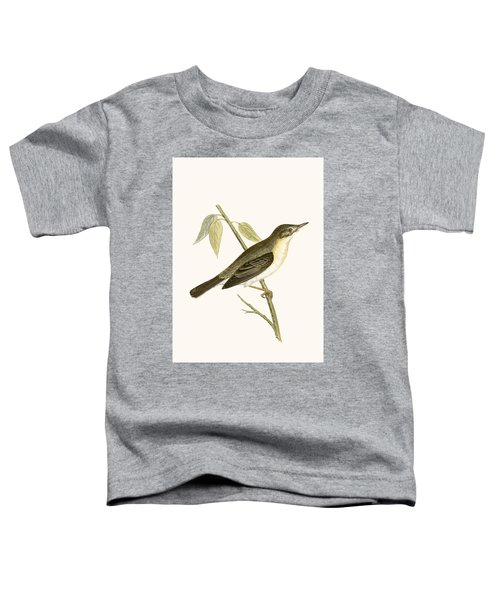 Olivaceous Warbler Toddler T-Shirt by English School