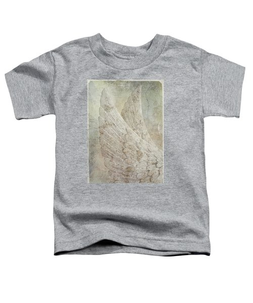 On Angels Wings 2 Toddler T-Shirt