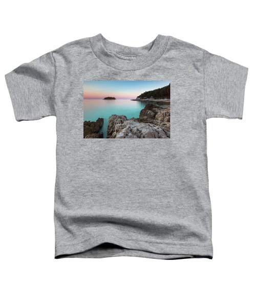 On The Beach In Dawn Toddler T-Shirt