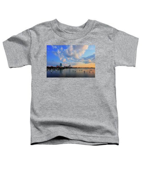 On The River Toddler T-Shirt by Rick Berk