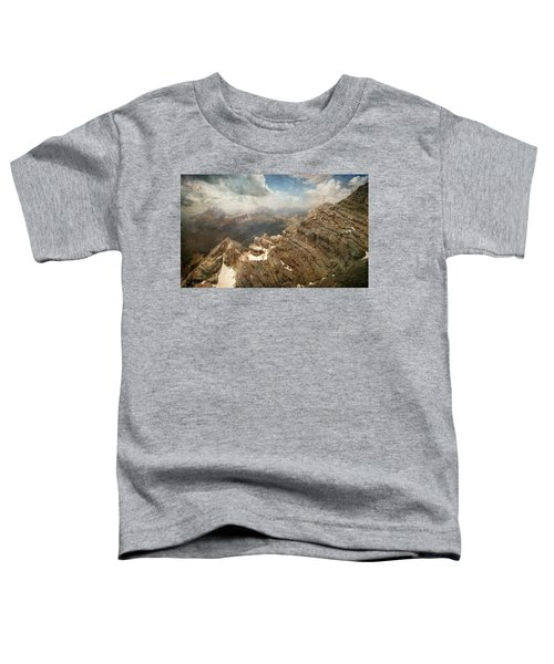 On The Top Of The Mountain  Toddler T-Shirt