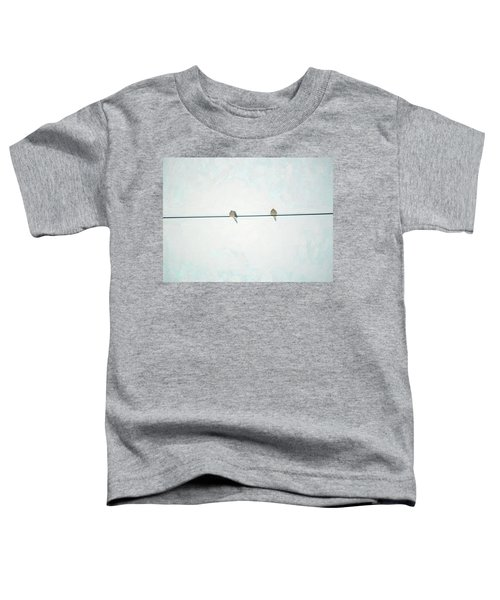 On The Wire Toddler T-Shirt