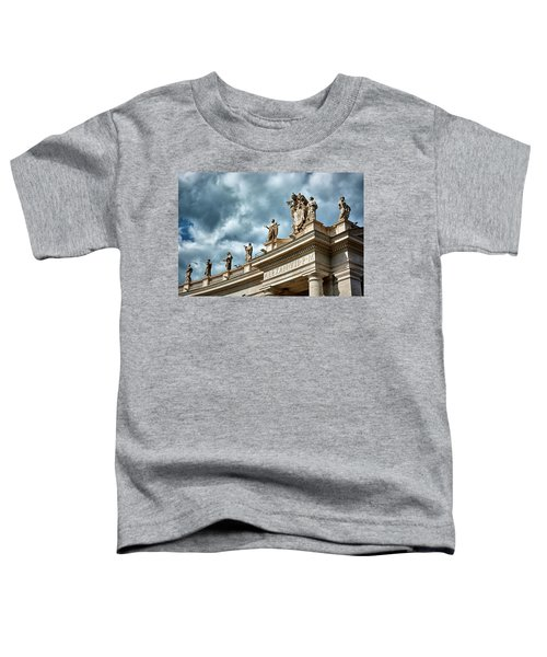 On Top Of The Tuscan Colonnades Toddler T-Shirt