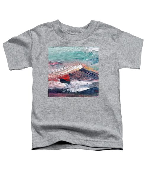 Wave Mountain Toddler T-Shirt