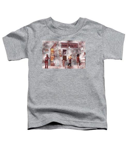Toddler T-Shirt featuring the digital art One Way by Gerry Morgan