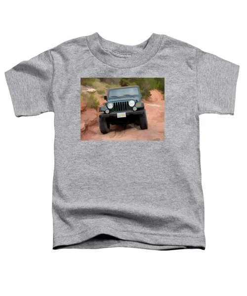 Only Jeeps Here Toddler T-Shirt