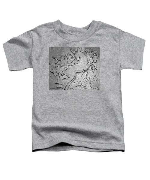 Ontario Forest Life In Granite Toddler T-Shirt
