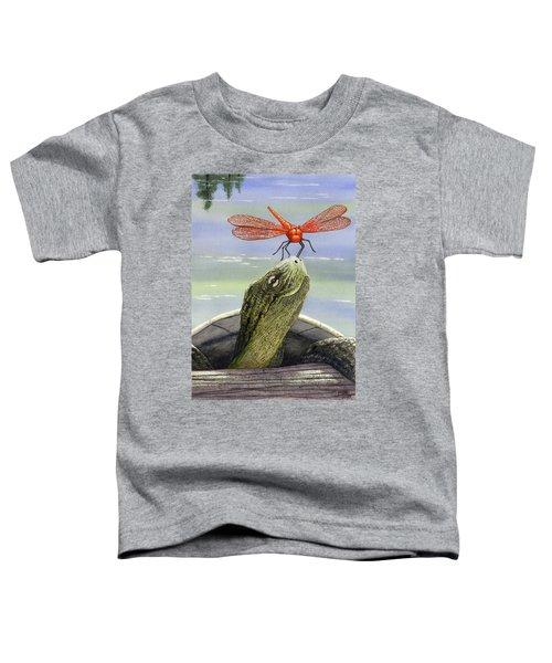 Orange Dragonfly Toddler T-Shirt