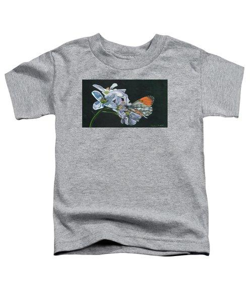 Orange Tip  Toddler T-Shirt