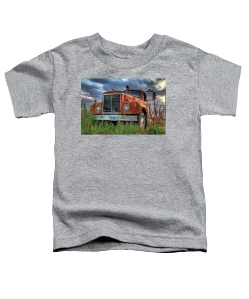 Orange Truck Toddler T-Shirt