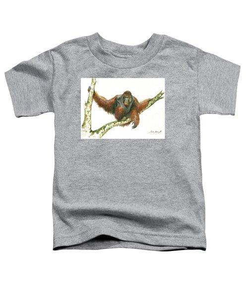Orangutang Toddler T-Shirt