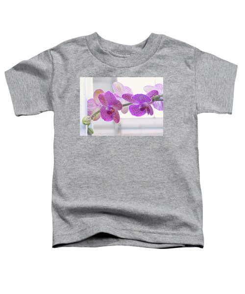 Orchid Spray Toddler T-Shirt