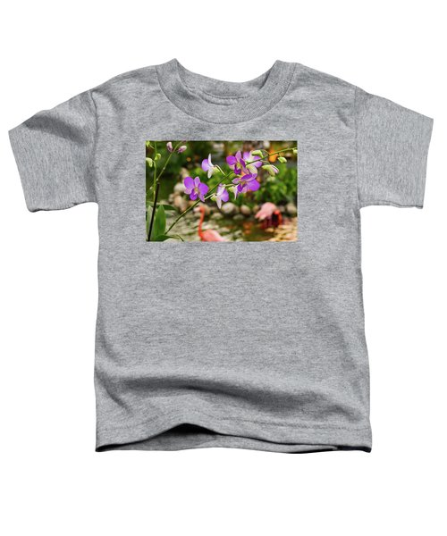 Orchids In Paradise Toddler T-Shirt
