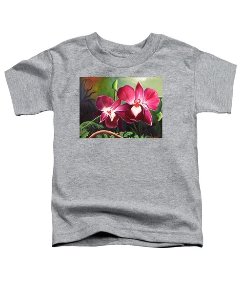 Orchids In The Night Toddler T-Shirt