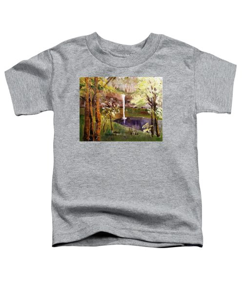 Oregon Waterfall Toddler T-Shirt