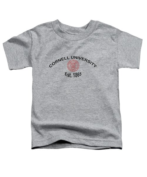 ornell University Est 1865 Toddler T-Shirt by Movie Poster Prints