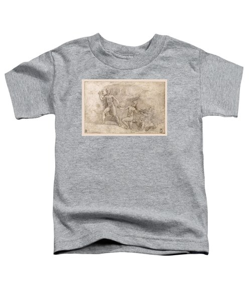 Orpheus' Fruitless Attempt To Recover Eurydice From Hades Toddler T-Shirt