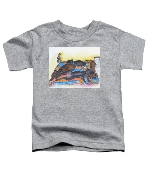 Our Bed Now Toddler T-Shirt