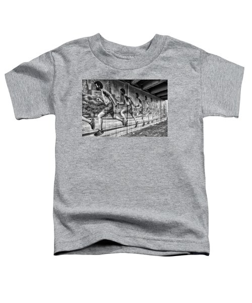 Out For A Run Toddler T-Shirt