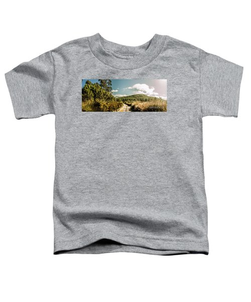 Outback Country Road Panorama Toddler T-Shirt