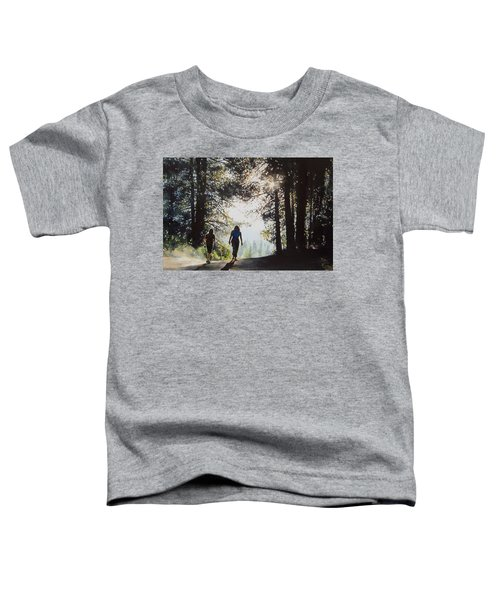 Over The Hills Toddler T-Shirt