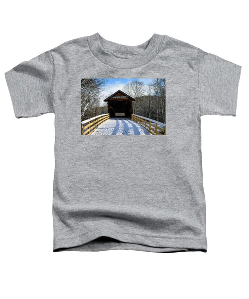 Over The River And Through The Bridge Toddler T-Shirt