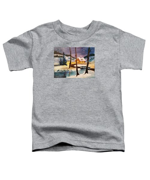 Over The River Toddler T-Shirt