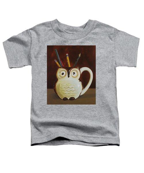 Owl Cup Toddler T-Shirt