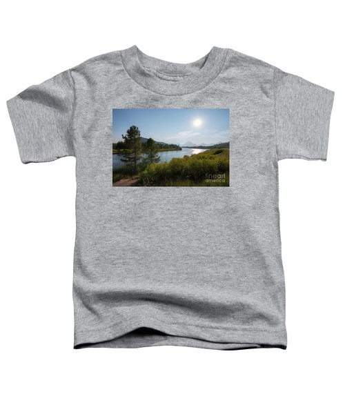 Oxbow Bend Grand Teton National Park  Toddler T-Shirt