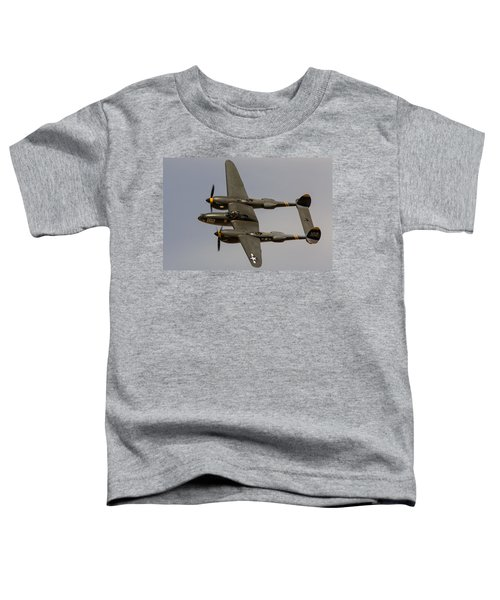 P-38 Skidoo Toddler T-Shirt
