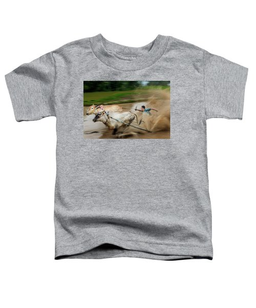 Pacu Jawi Bull Race Festival Toddler T-Shirt