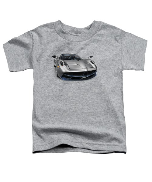 Pagani Huayra Exotic Sports Car Toddler T-Shirt