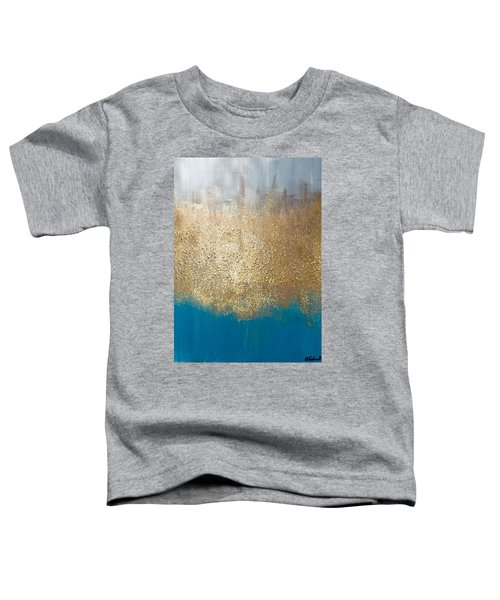 Paint The Sky Gold Toddler T-Shirt