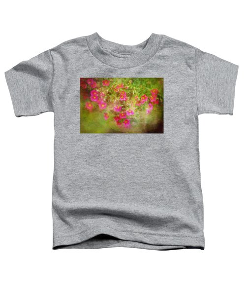 Painted Flowers Toddler T-Shirt