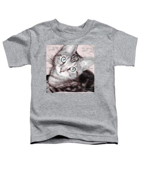 Pastel Bengal Kitten Toddler T-Shirt
