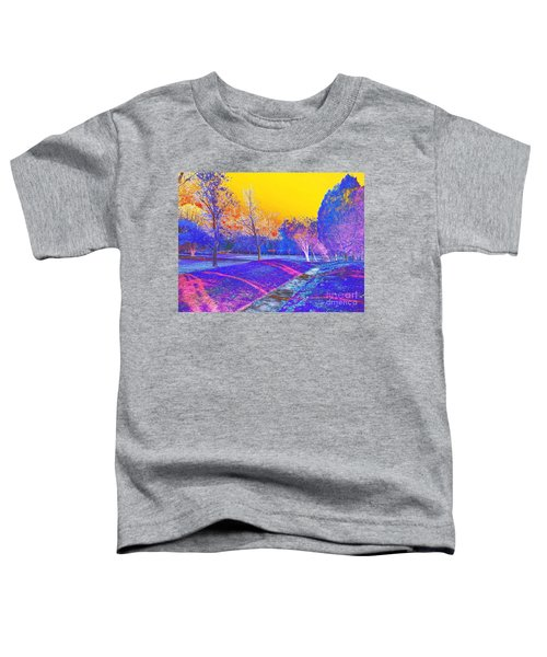 Painting With Shadows Toddler T-Shirt