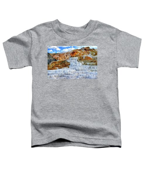 Toddler T-Shirt featuring the photograph Palette Steps by Greg Norrell