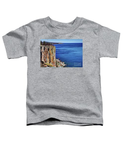 Palisade Head Tettegouche State Park North Shore Lake Superior Mn Toddler T-Shirt