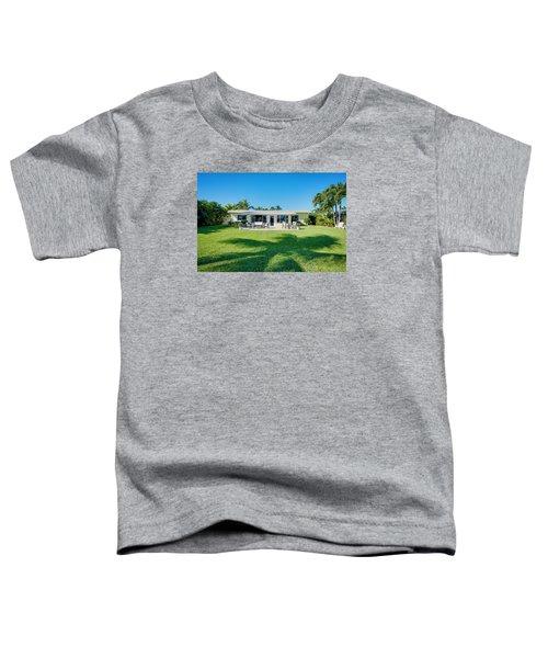 Palm Back Yard Toddler T-Shirt