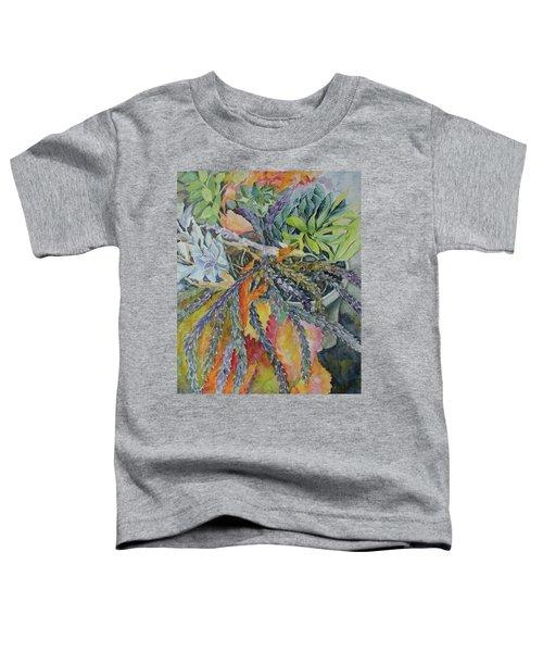 Palm Springs Cacti Garden Toddler T-Shirt