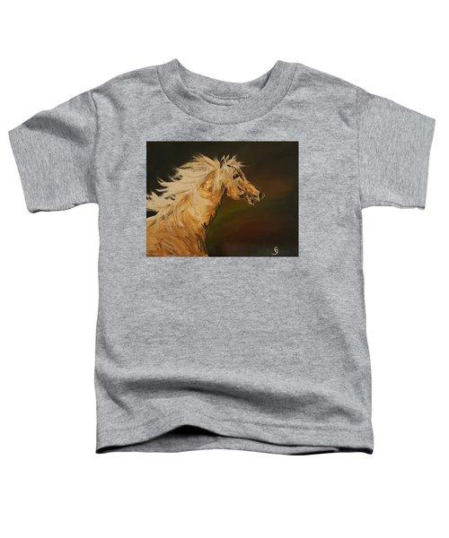 Palomino Running Wild                     85 Toddler T-Shirt